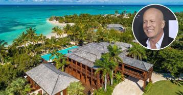 Bruce Willis vende su mansión en el Caribe por 27 millones de dólares
