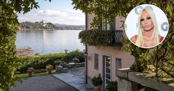 Donatella Versace compra la espléndida Villa Mondadori en el lago Maggiore por 5 millones