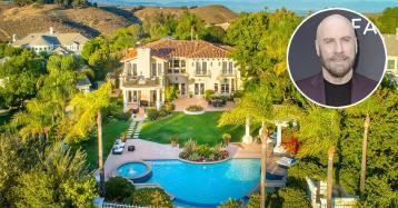 John Travolta se compra esta villa en California por 2,6 millones