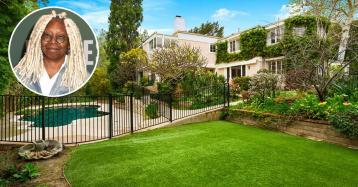 Vuelve al mercado la antigua casa de Whoopi Goldberg en Los Ángeles