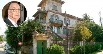 A la venta un viejo palacete en A Coruña donde residió Camilo José Cela