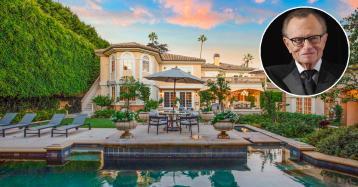 El famoso presentador Larry King vende su mansión en Beverly Hills