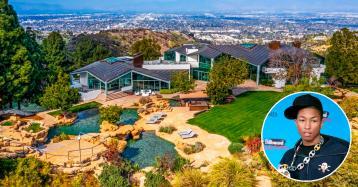 Pharrell Williams cierra la venta de este casoplón en Beverly Hills con una seria rebaja