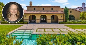 Jodie Foster pone a la venta una bonita casa de estilo colonial en California