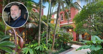 La antigua residencia de Russell Crowe en Sídney busca nuevo propietario