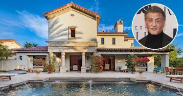Sylvester Stallone rebaja el precio de venta de su mansión en California