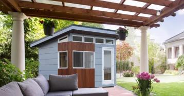 Casetas prefabricadas: gana espacio en casa sin necesidad de obras