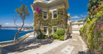 La increíble mansión de James Bond en Niza, a la venta por 30 millones
