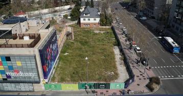 El covid-19 atrasa un proyecto para construir 9 casas exclusivas en Madrid