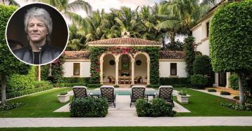 Jon Bon Jovi se muda de mansión en Palm Beach por 36,6 millones