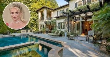 La antigua mansión de Britney Spears en Beverly Hills sale de nuevo al mercado