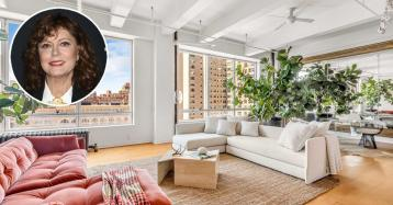 La actriz Susan Sarandon poneenventa un espectacular dúplex en Nueva York por 6,7 millones