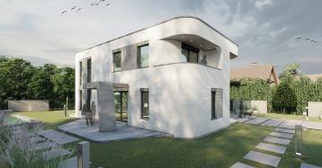 Así es la primera casa que se está construyendo en Alemania con una impresora 3D