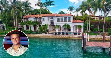 Los planes del nuevo dueño de la mansión que tenía Alejandro Sanz en Miami