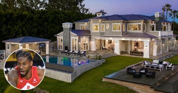 La estrella de la NBA Kawhi Leonard se ha comprado esta mansión en Los Ángeles