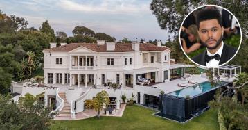 El nuevo 'Príncipe de Bel-Air': The Weeknd compra una mansión por 60 millones