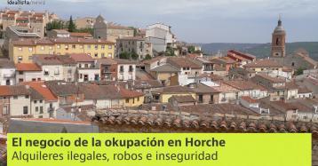 El problema de Horche: robos, inseguridad y 200 okupas en un pueblo de 3.000 habitantes
