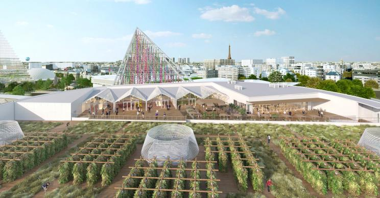 Así es el huerto urbano más grande del mundo y está en París