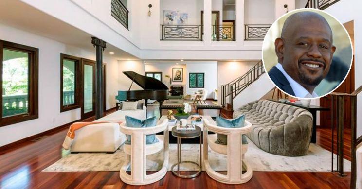 El actor Forest Whitaker vuelve a poner en venta su casa de Hollywood Hills rebajada