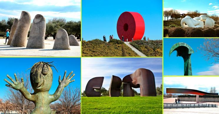 Un paseo por la escultura pública madrileña: te mostramos las que están en el Parque Juan Carlos I