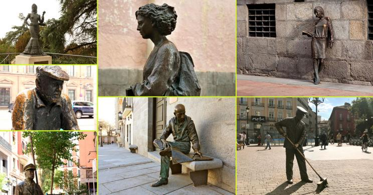 Un paseo por la escultura pública madrileña: te mostramos las de estilo figurativo