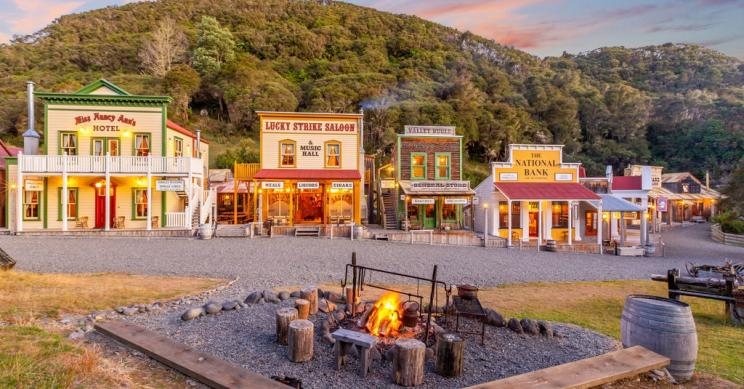 A la venta un pueblo entero al más puro estilo Viejo Oeste… en Nueva Zelanda