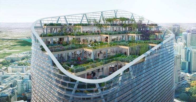 El proyecto detorre híbrida de madera más altodel mundoestarálistoen Sídney en 2025