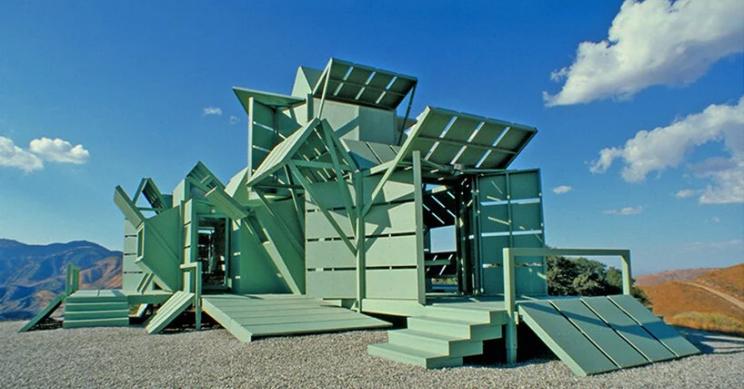La esperpéntica casa prefabricada que apostó por la sostenibilidad y la flexibilidad hace más de 20 años