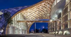 Así es la nueva sede de Swatch, una de las estructuras en madera más grandes del mundo