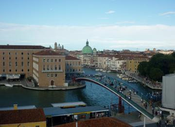 Calatrava, condenado a pagar por el sobrecoste del puente de Venecia