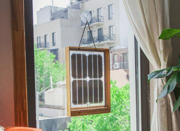 Llegan los paneles solares que logran obtener energía desde la ventana