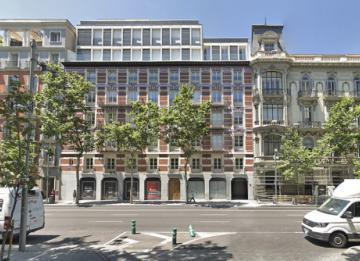 AEW vende a la Mutualidad de la Abogacía un local comercial en Serrano ocupado por Caixabank