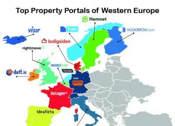 Imagen del día: idealista, en el top de portales inmobiliarios europeos