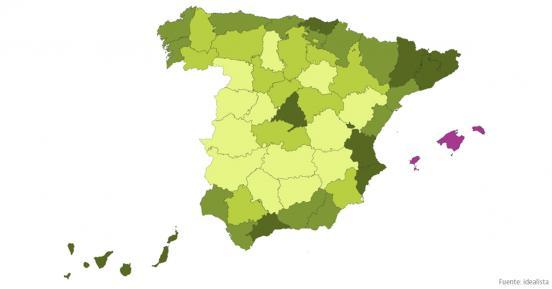 Estas son las zonas más caras de España para comprar casa más allá de las capitales
