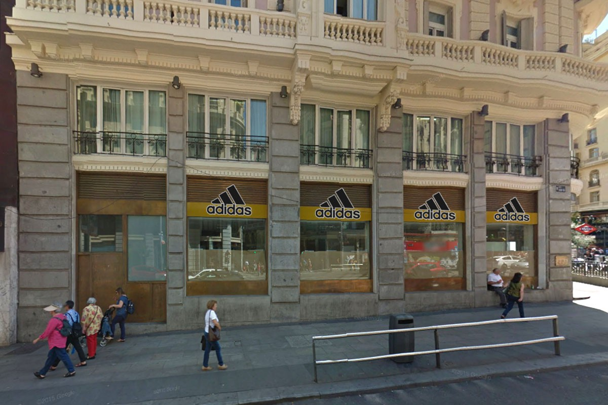 captura rico y magnífico precio Adidas abrirá su tienda insignia en la Gran Vía de Madrid ...