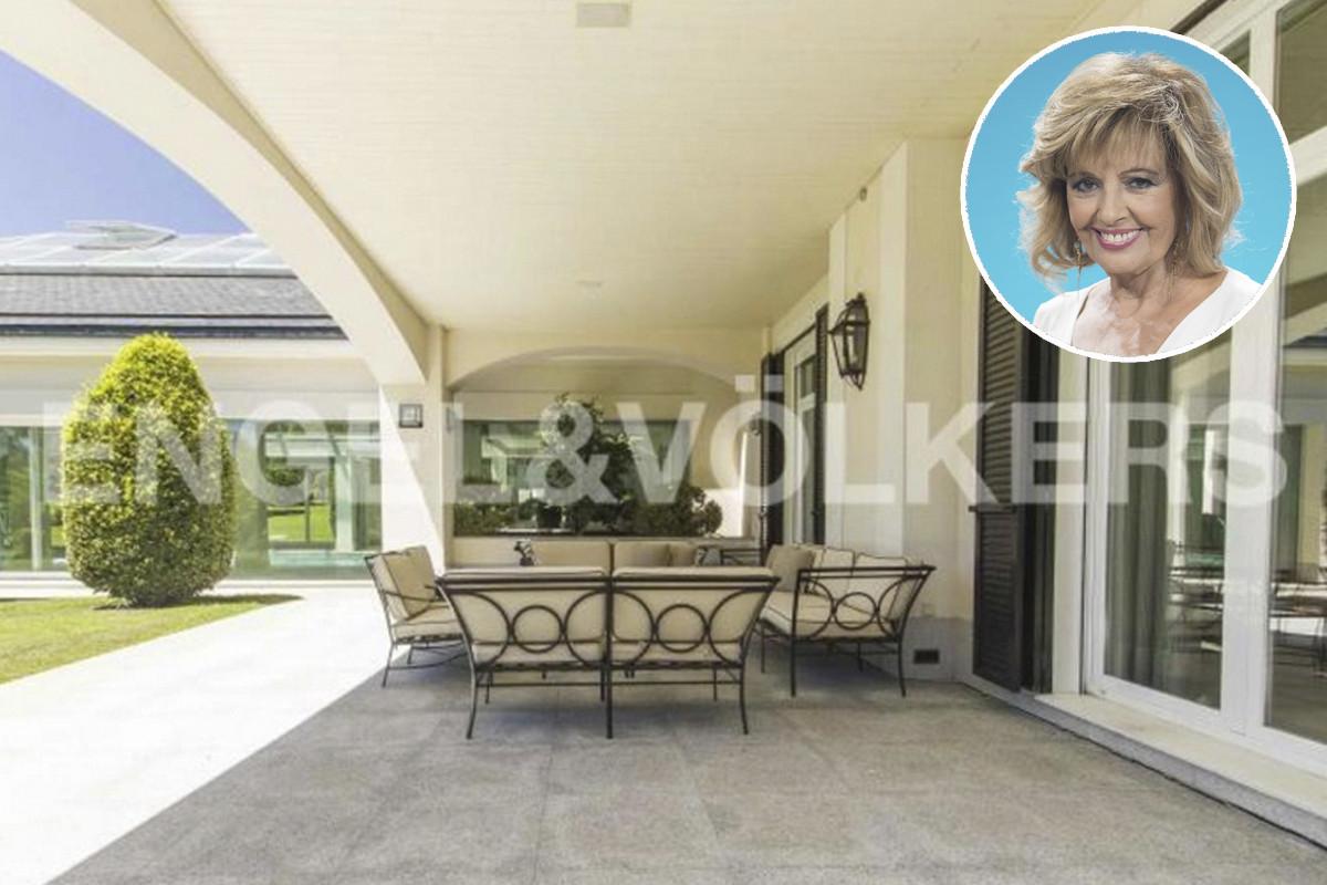 Así es la mansión de María Teresa Campos que vende por más