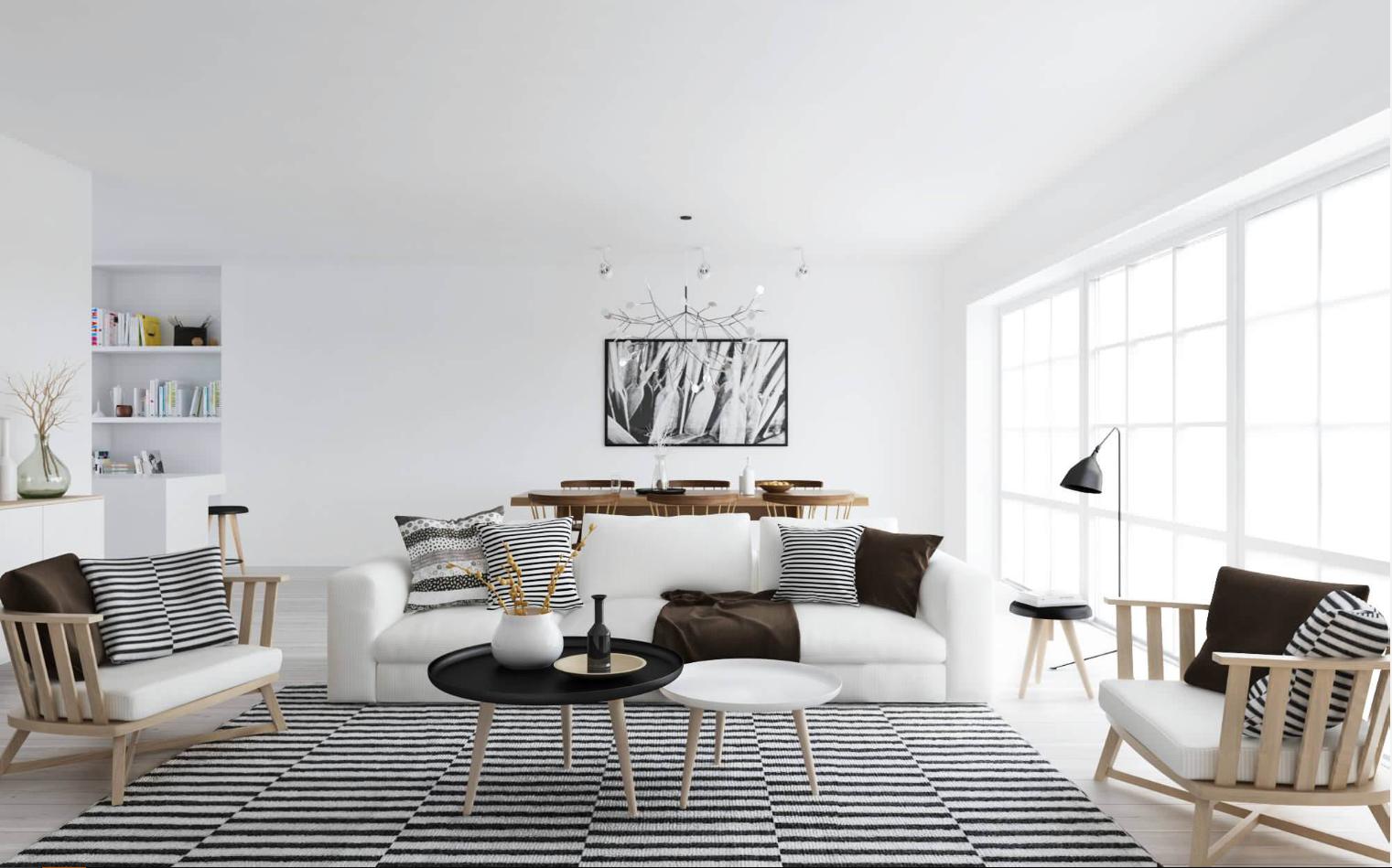 Ideas de decoración: Organiza tu salón para tener invitados sin