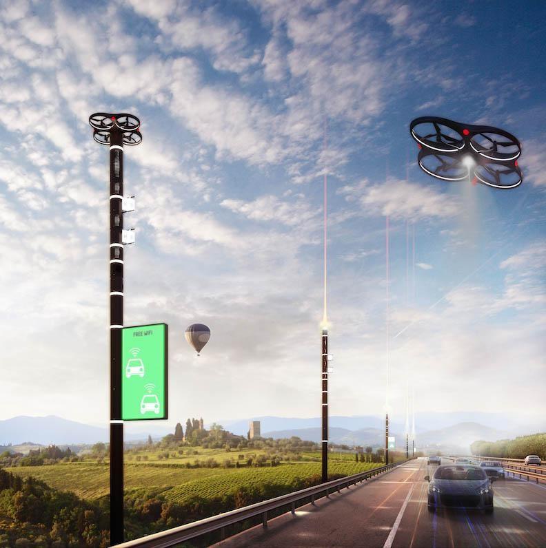 Drones, robots y rascacielos inteligentes: el diseñador que imagina las ciudades del futuro