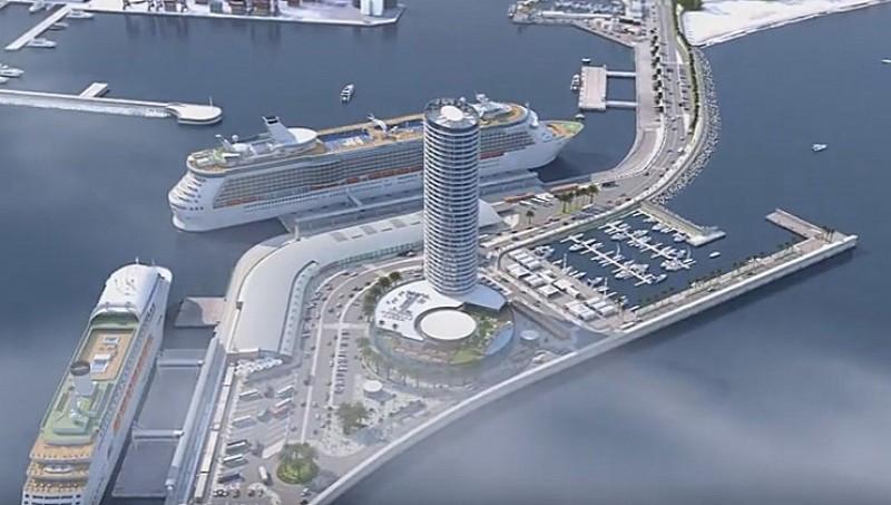 Málaga construirá un macrohotel de lujo en el puerto