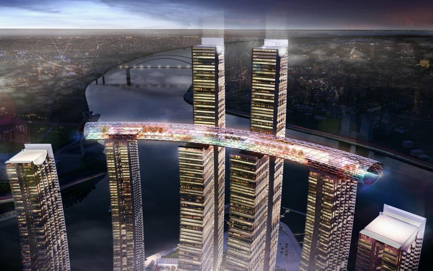 Los insólitos rascacielos 'horizontales' que ya están conquistando las grandes ciudades