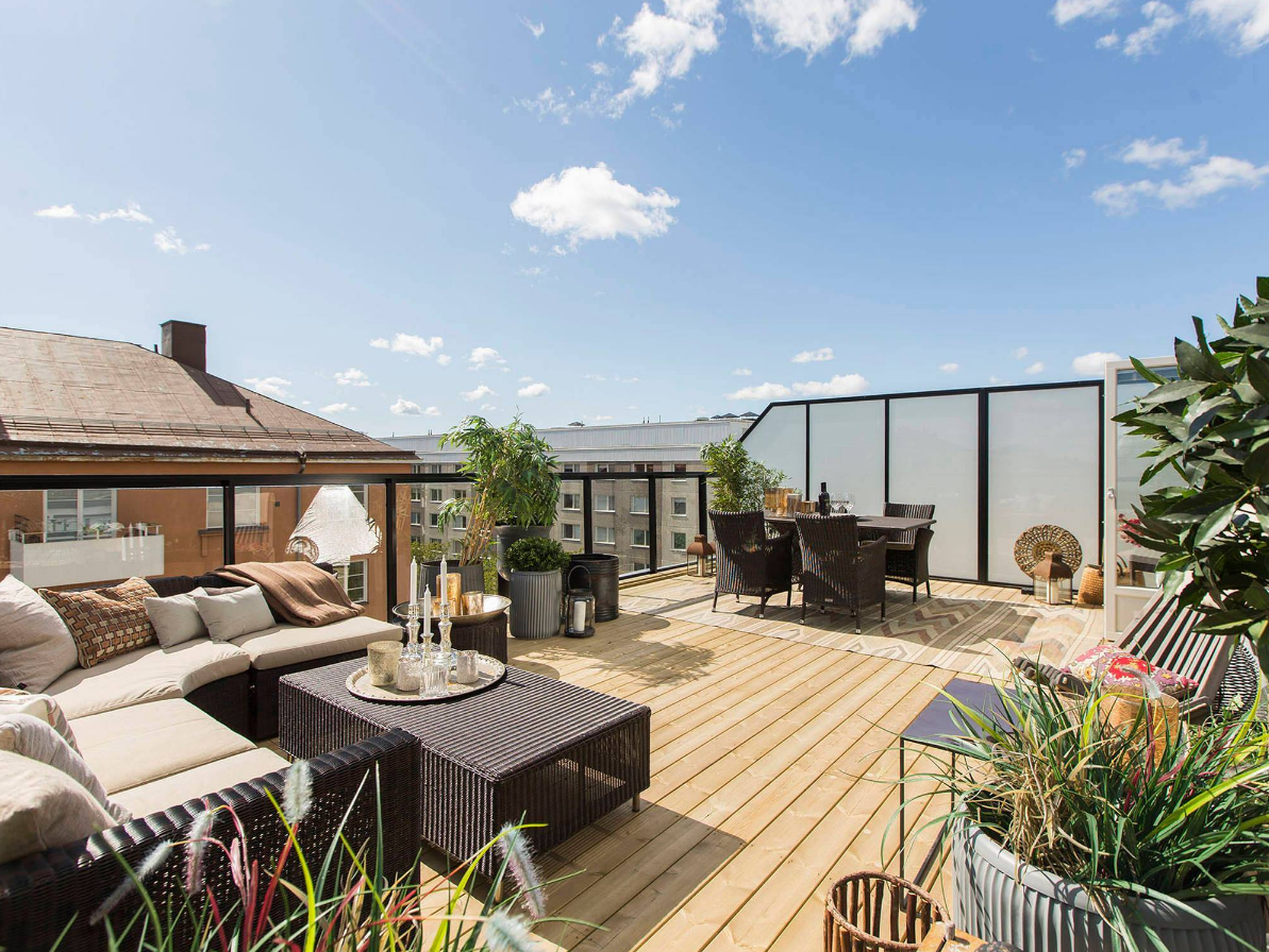 Ideas de decoraci n para a adir la terraza a tu casa for Decoracion exterior jardin contemporaneo