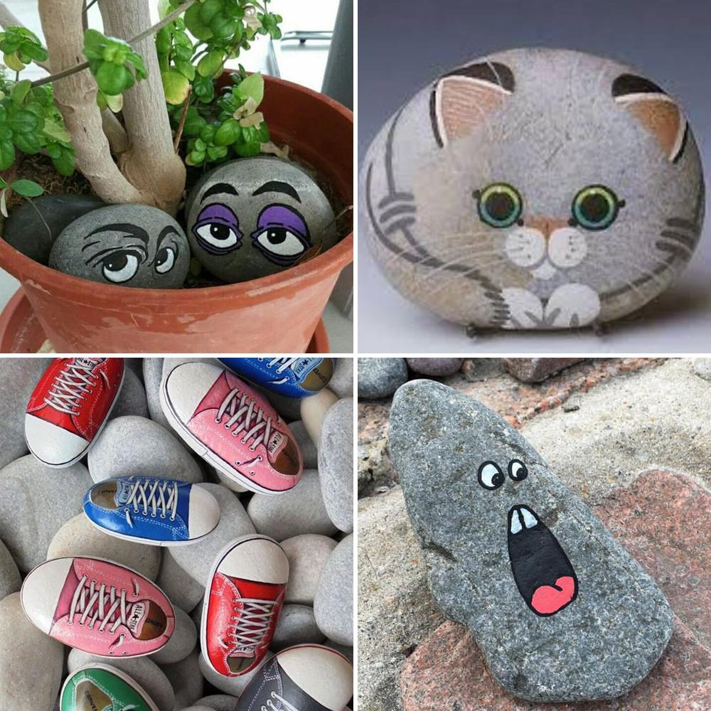 Ideas de decoraci n alegra tu hogar con estas - Decoracion con piedra ...