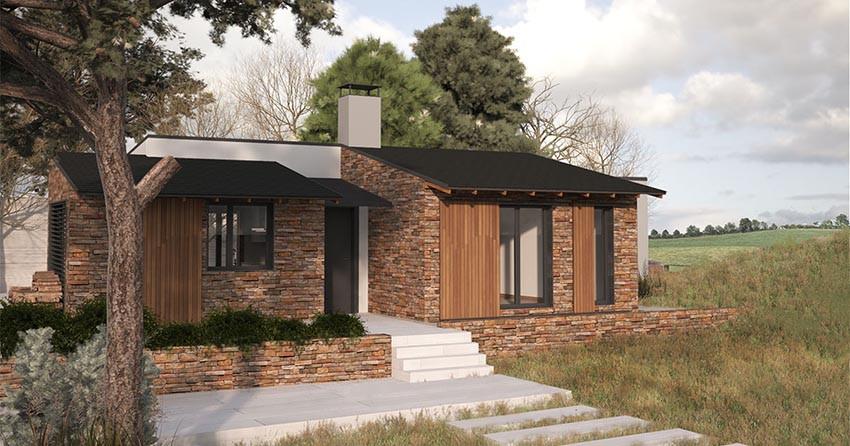 Casas prefabricadas r sticas precios y modelos for Modelos de casas prefabricadas americanas