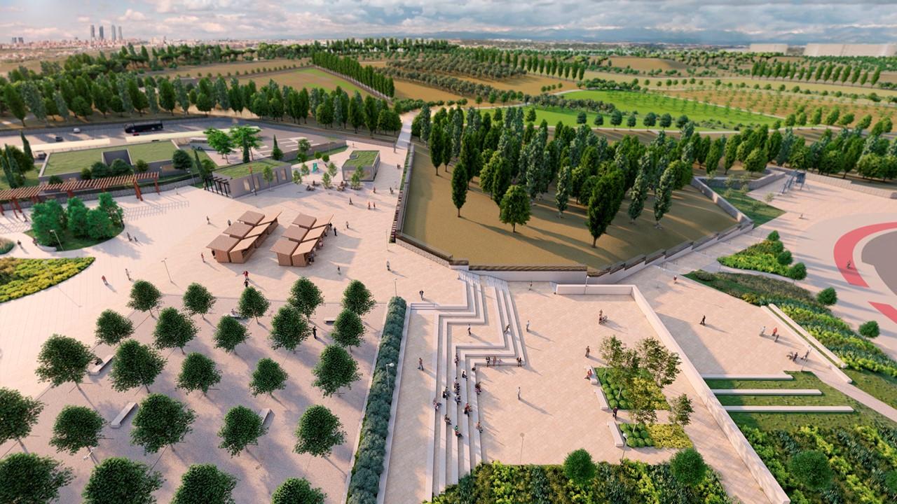 Aprobadas las obras del parque de Valdebebas y la renovación de la Colonia de Villaverde en Madrid