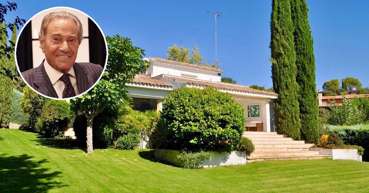 La antigua casa de Arturo Fernández se vende en idealista