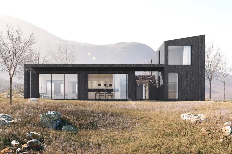 El lujo escandinavo llega a la construcción de casas prefabricadas