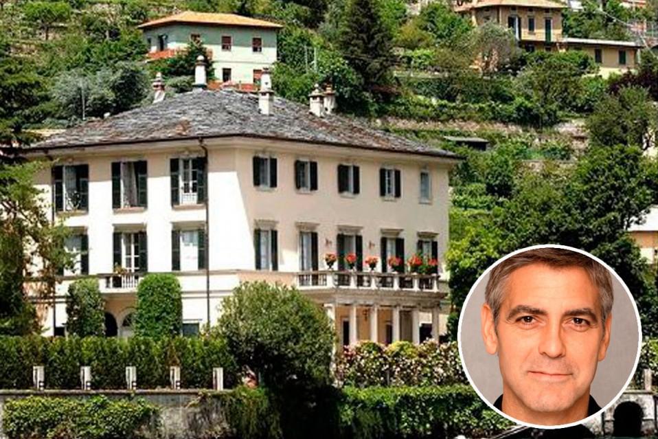 George Clooney Pone En Venta Villa Oleandra En El Lago De Como Idealista News