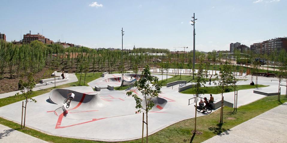 Madrid Río 50 Fotos Desde Los Puentes Del Nuevo Parque De
