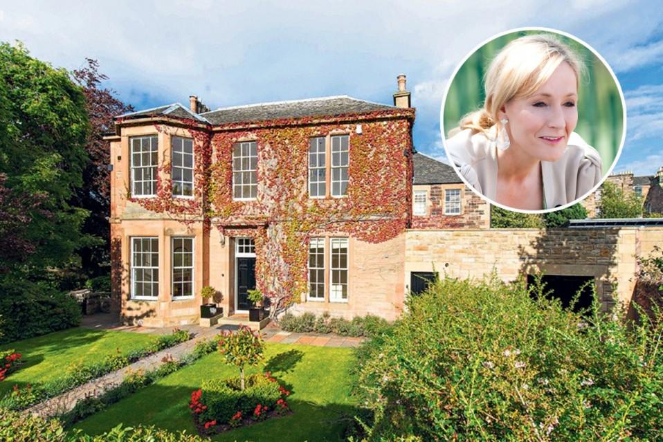 La casa donde J.K. Rowling escribió Harry Potter