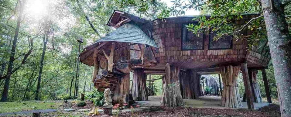 La misteriosa casa rbol que slo tard una hora en venderse